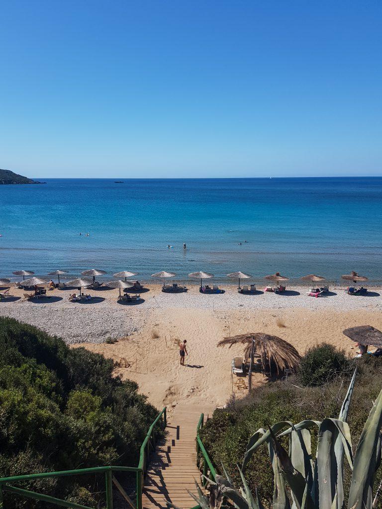 Gerakas beach Zakynthos rustig