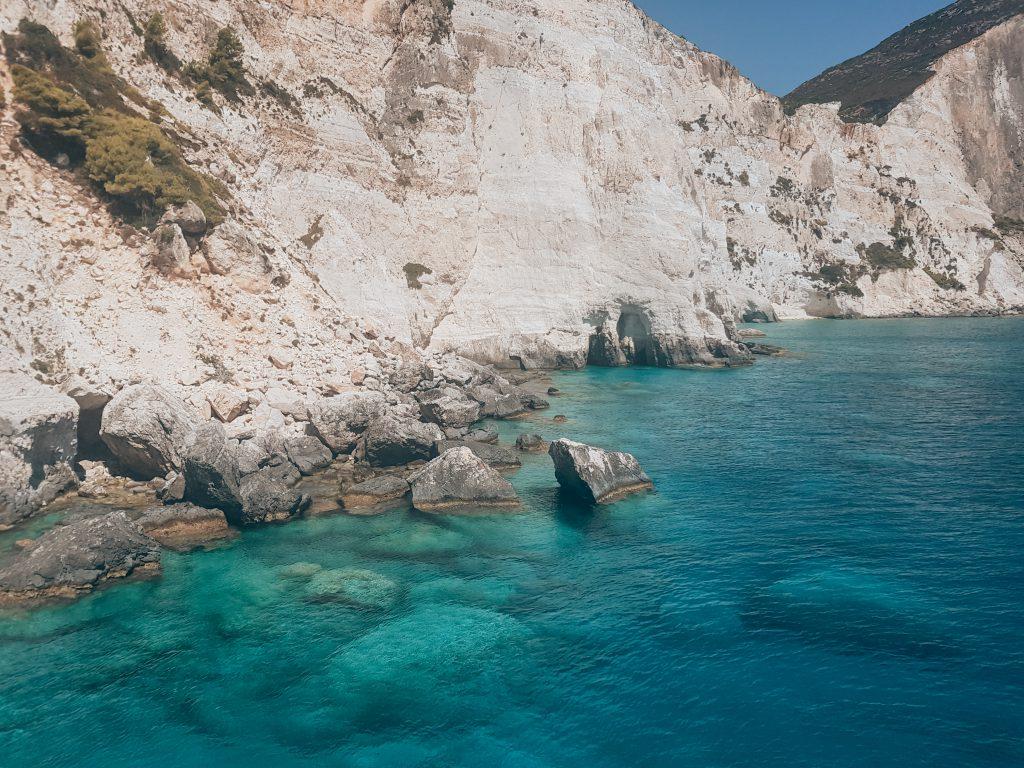 Helder water Plakaki beach Zakynthos