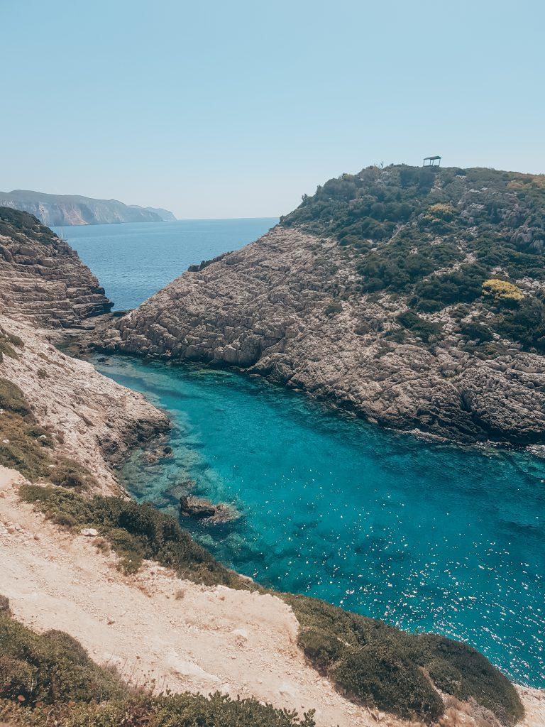 Korakonissi mooiste strand Zakynthos