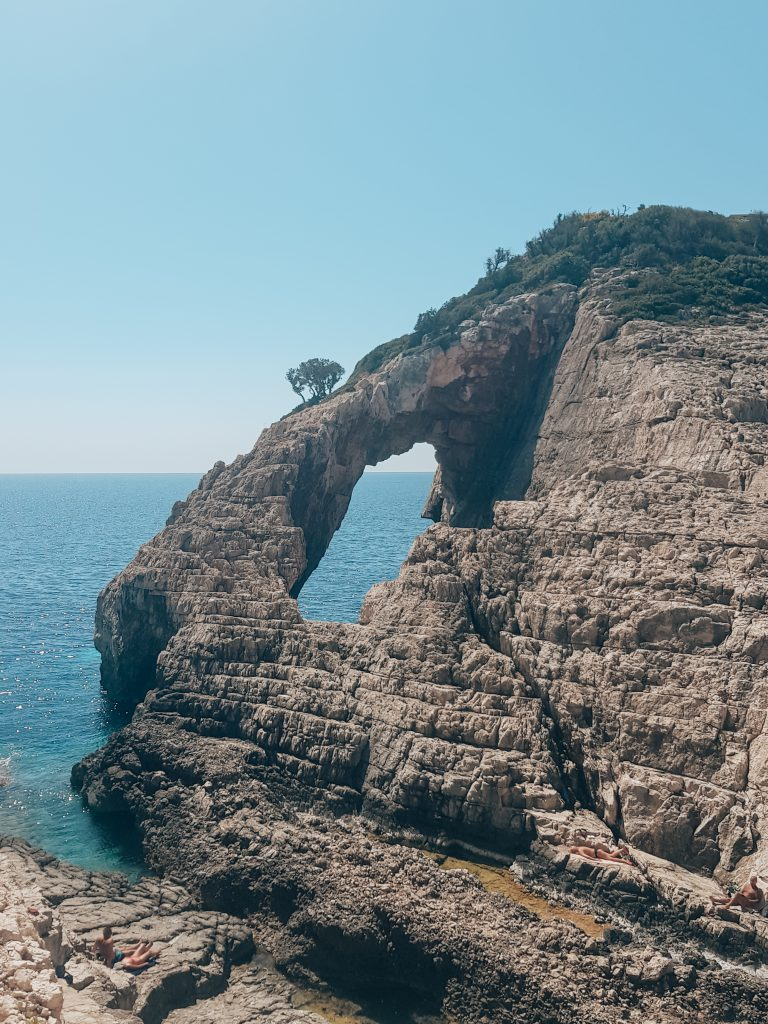 Korakonissi grot zee Zakynthos