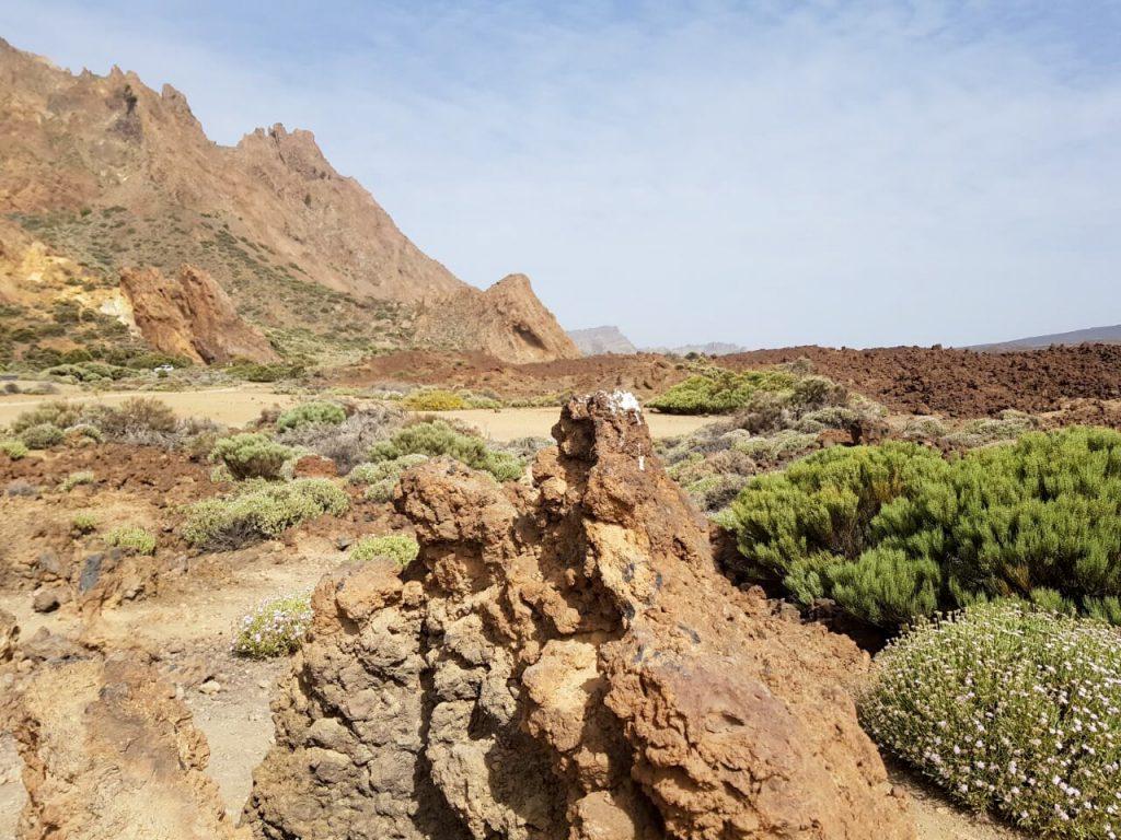 El Teide uitzicht