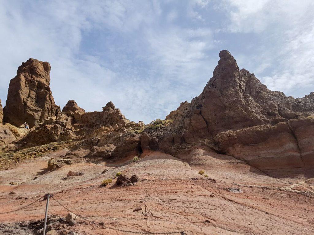 El Teide rotsen