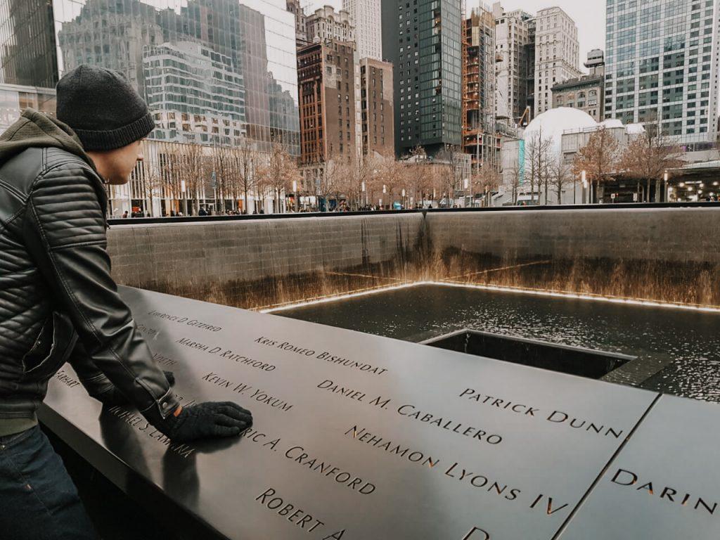 9/11 memorial basins New York