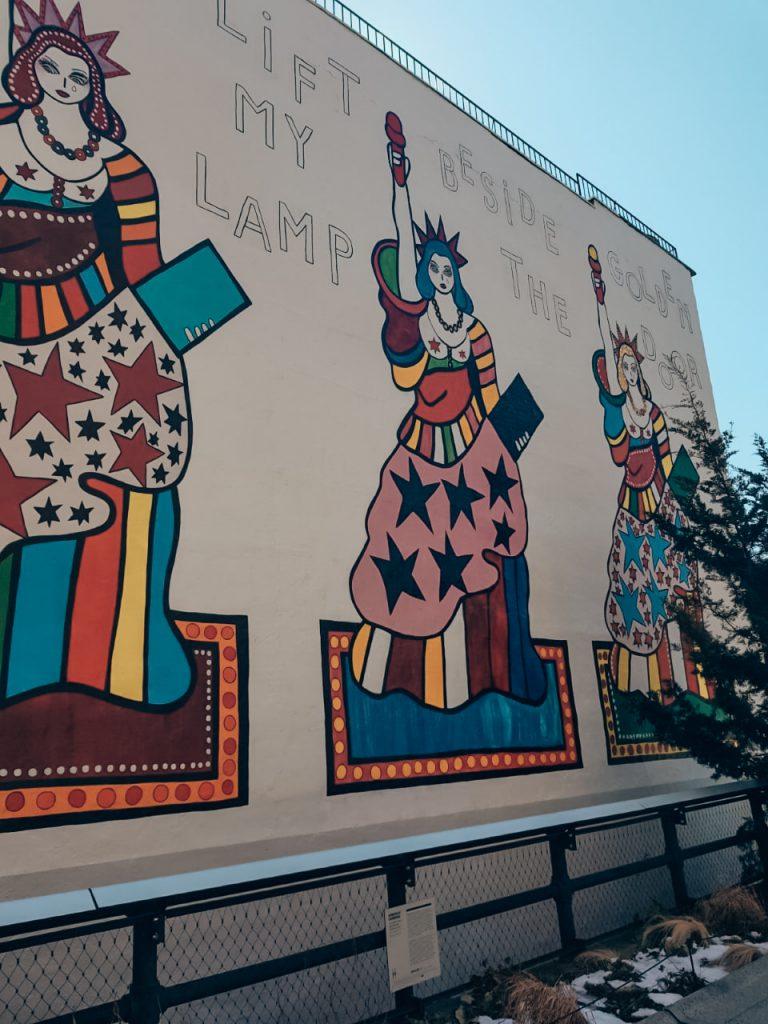 graffiti High Line