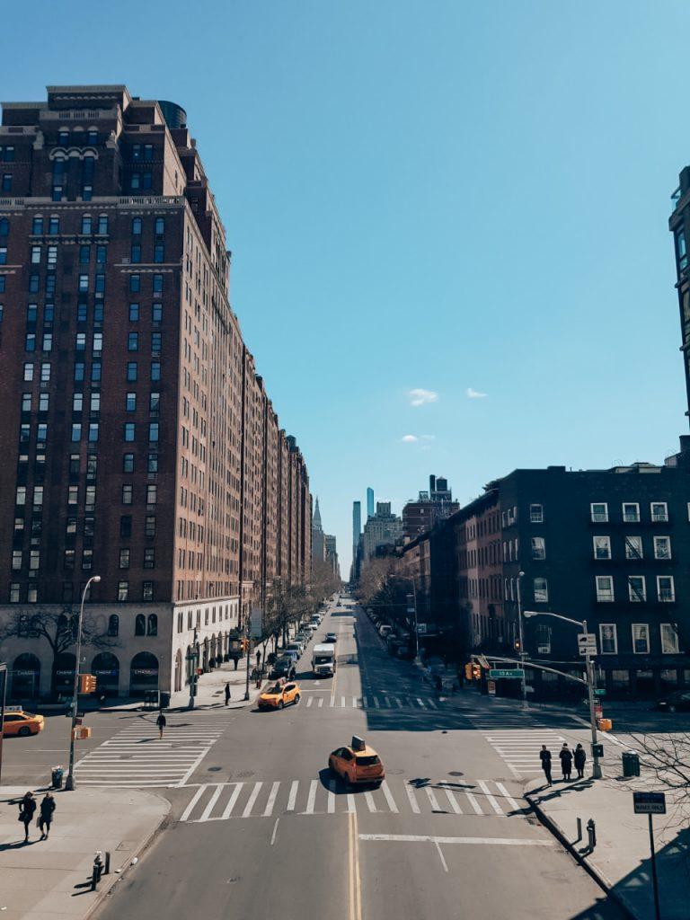uitzicht vanaf High Line