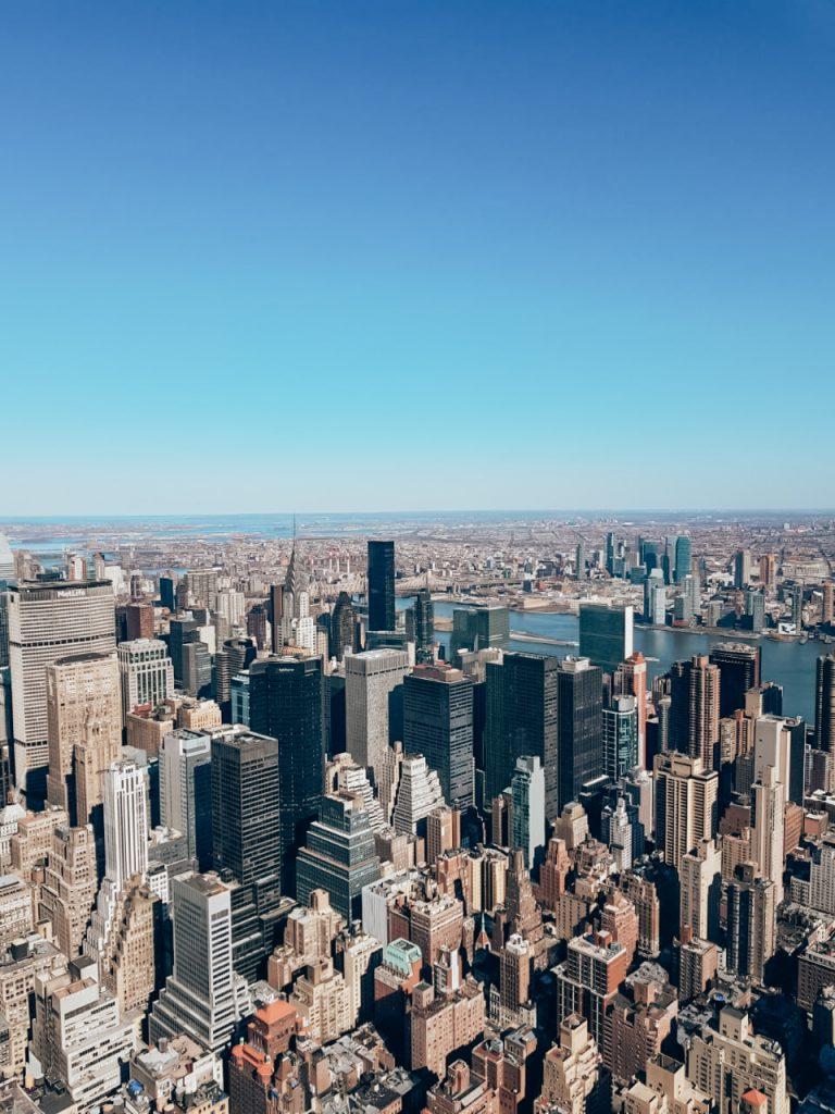 Uitzicht vanaf One World observatory