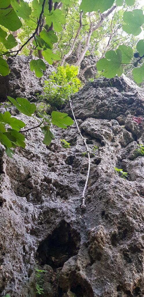 Grot van Pythagoras klimmen Samos ervaring