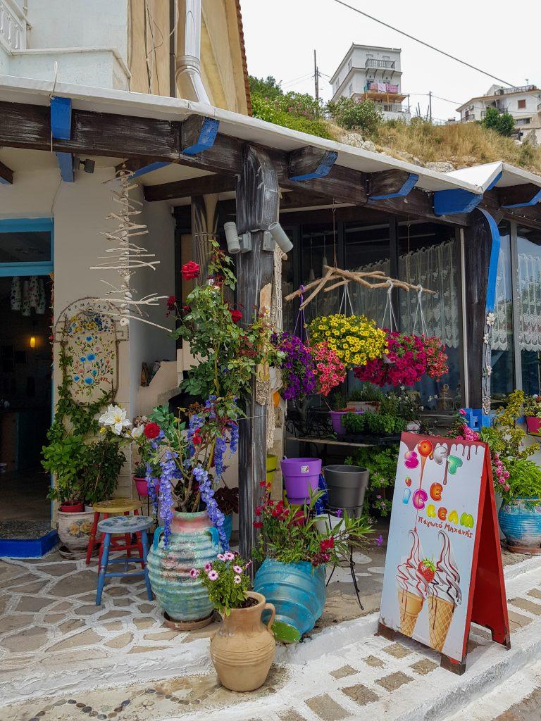 Pythagorion tip Samos Griekenland