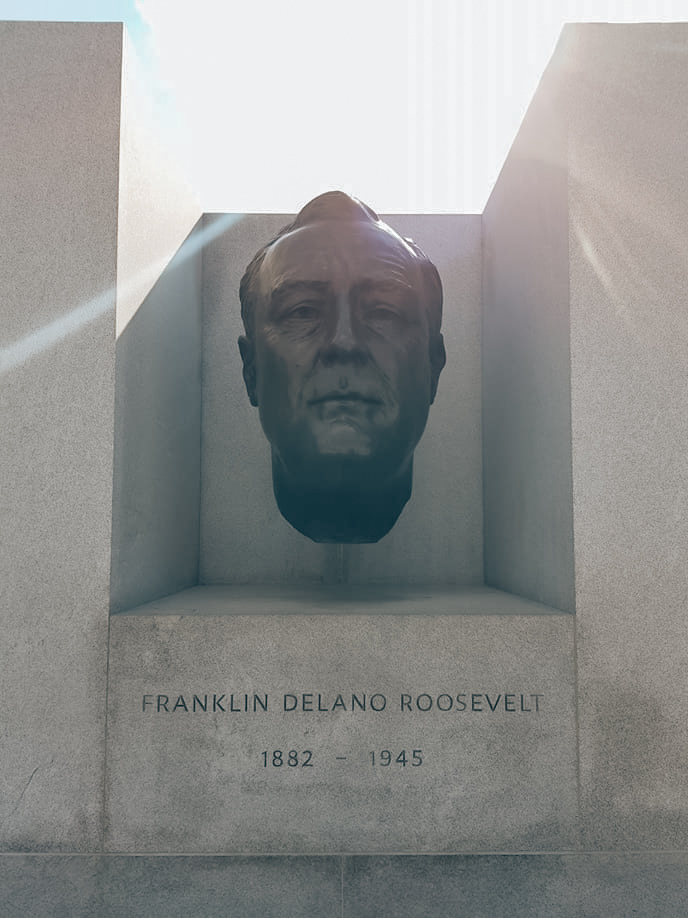 Standbeeld Roosevelt Island