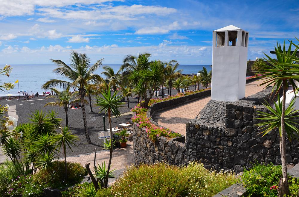 Strand Puerto de la Cruz bezienswaardigheden op Tenerife