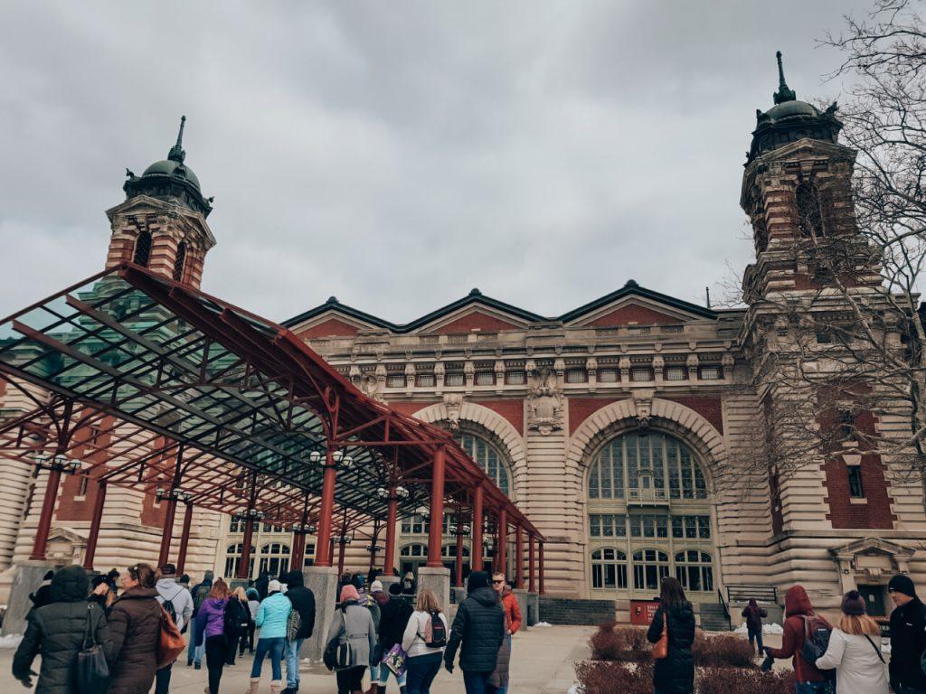 Ellis Island ingang