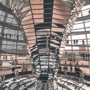 Koepel Reichstag Berlijn