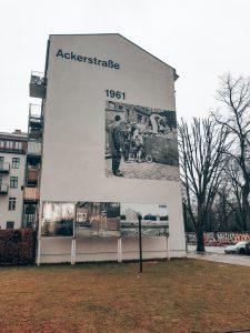 Ackerstrasse Berliner Mauer