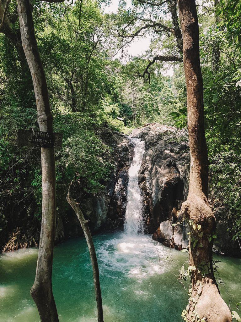 Watervallen op Bali Aling Aling
