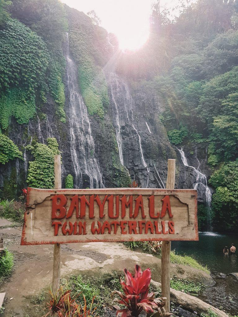 Bord Banyumala Twins waterval