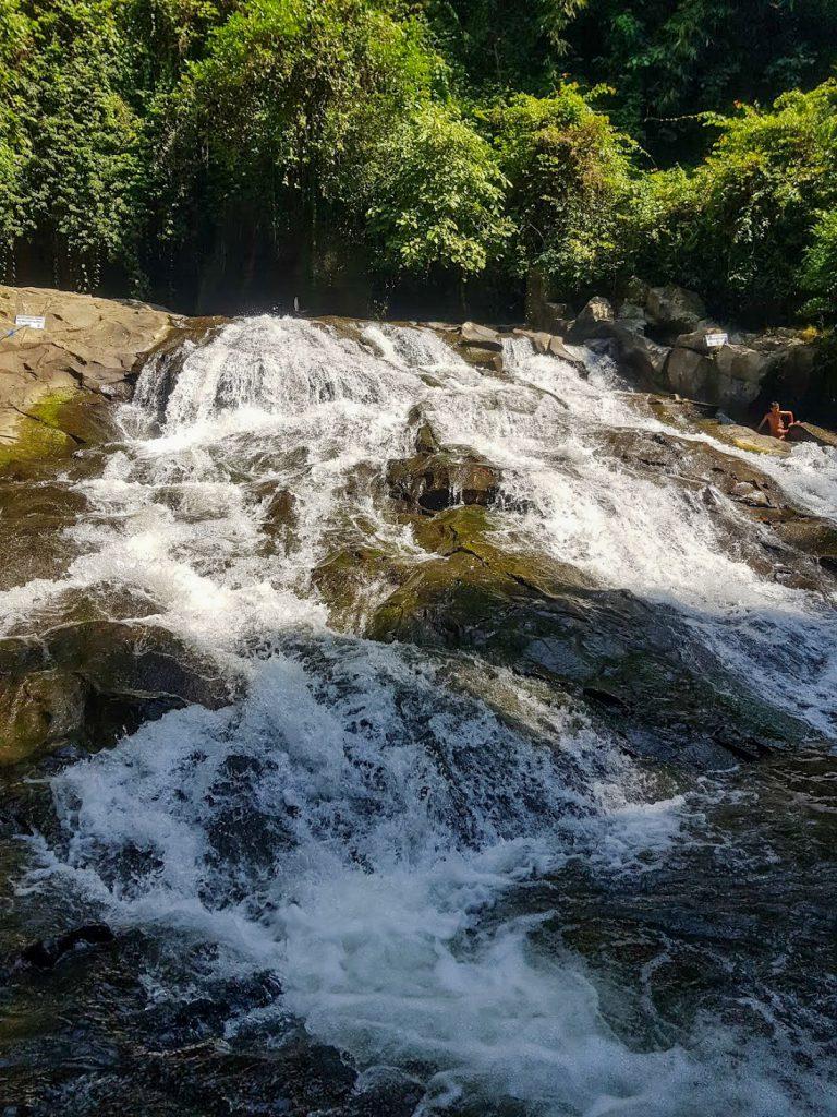 Goa Rang Reng watervallen op Bali