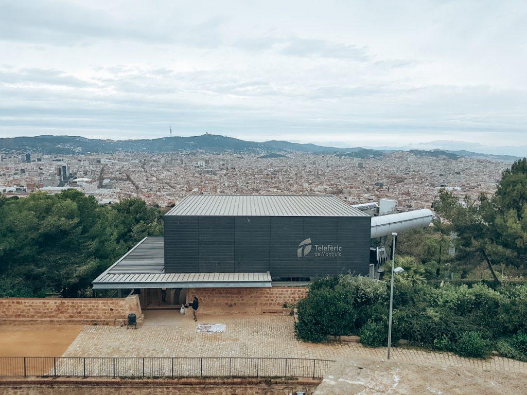 Instapplaats Telefèric de Montjuïc