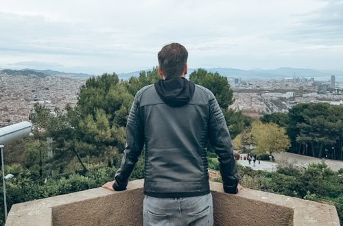 Uitzicht Barcelona vanaf het kasteel