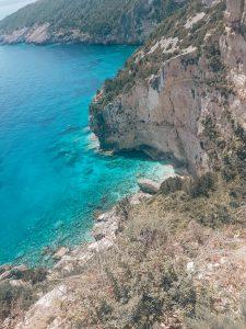 Uitzicht vanaf Cape Skinari