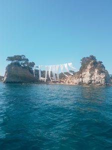 Cameo Island achterkant