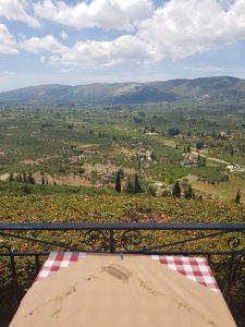 Lofos uitzicht vallei