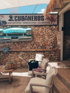 Beach bar Cubaneros