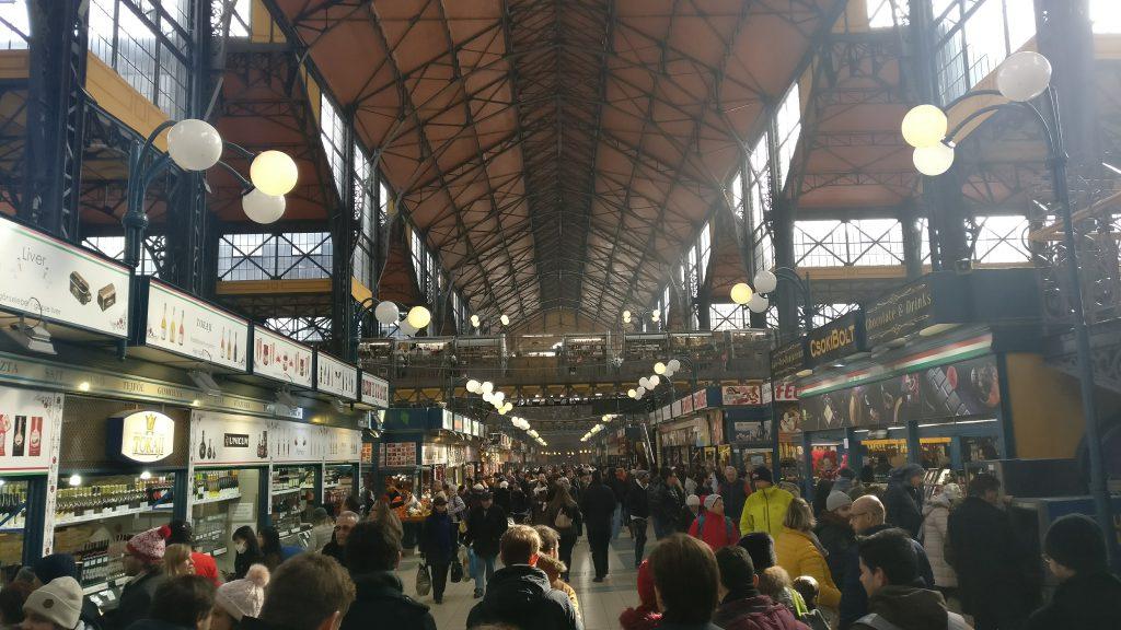 Markthal van binnen